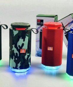 Loa bluetooth không dây TS-666 Mini, âm thanh cực hay, đèn Led đổi màu cực đẹp