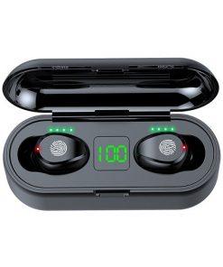 Tai nghe Bluetooth Amoi F9 bản quốc tế, nút cảm ứng, âm thanh vòm 8D, Pin 280 giờ, chống nước